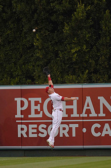 Mike Trout Catch