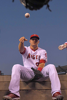 Mike Trout Baseball