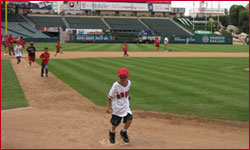 Kids Run the Bases