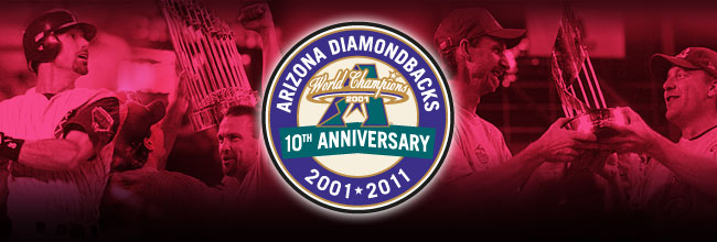 D-backs World Series championship 10th anniversary, 2001-2011