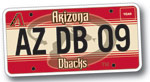 D-backs License Plates