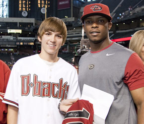Justin Upton, 2009 Shirts Off Our D-backs