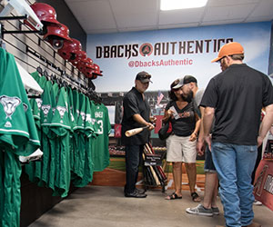 D-backs Authentics