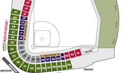 Salt River Fields Seating Chart - Click to enlarge