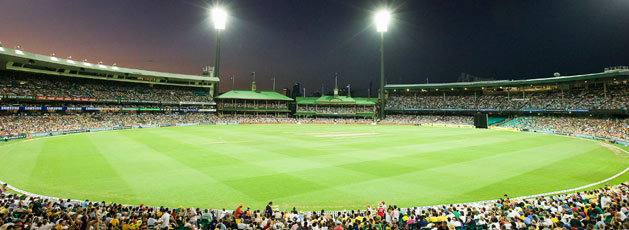 Sydney Cricket Ground at Night
