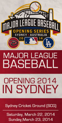 Opening Series Sydney, March 22-23,2014