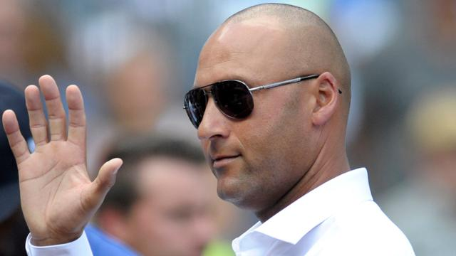 "Derek Jeter said he enjoyed every World Series he played in, ""But I really liked beating the Mets."" (AP)"