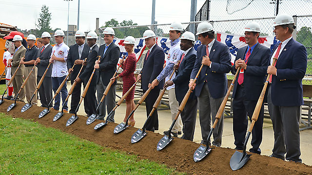 Reds break ground on new Urban Youth Academy