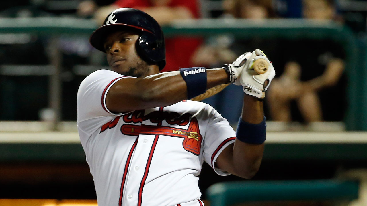 Braves strong at the plate; Garcia's control off