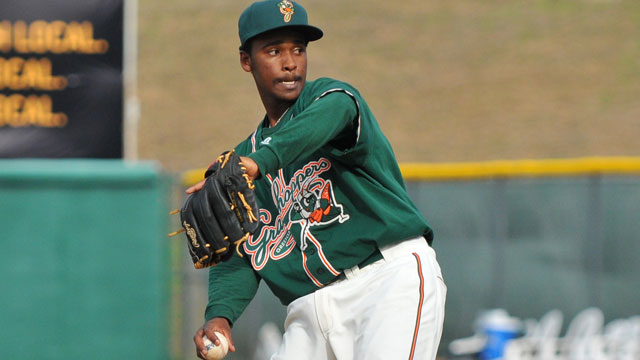 Marlins' prospect Del Orbe suffers fractured skull