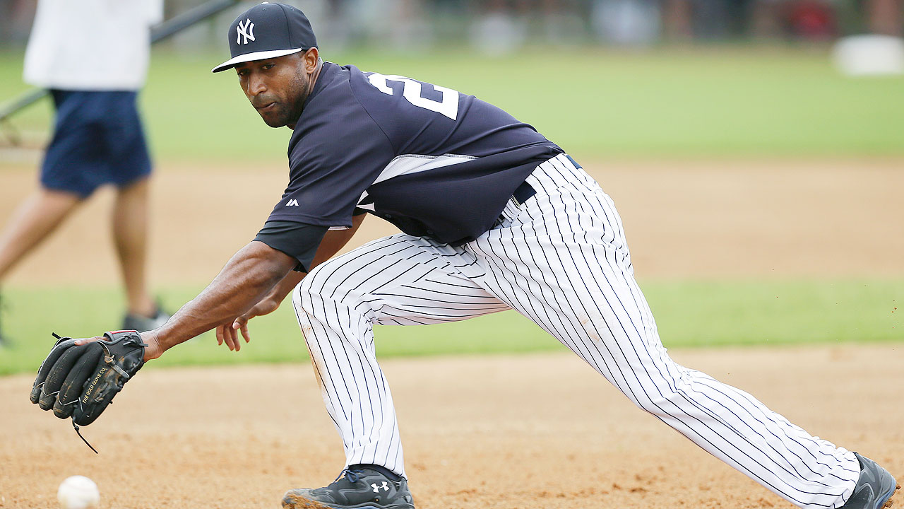 Yankees giving Nunez a chance as utility infielder