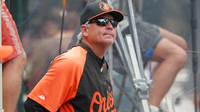 O's pitching coach Adair on leave of absence