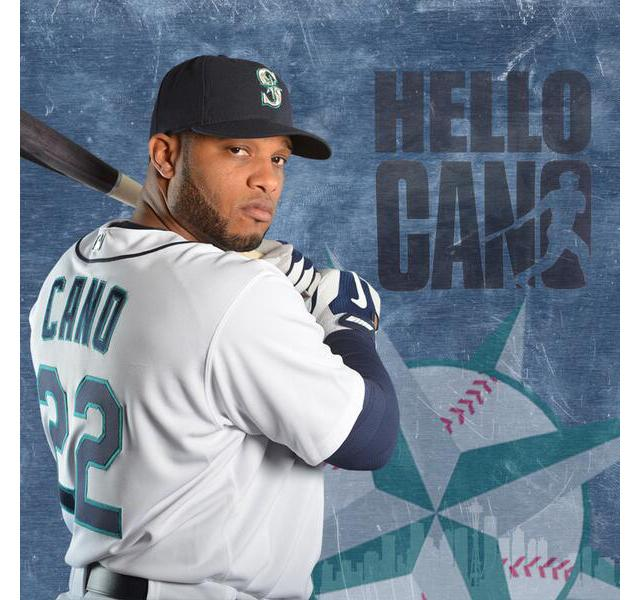 robinson cano says hello to mariners fans and to facial hair. Black Bedroom Furniture Sets. Home Design Ideas