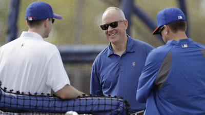 Alderson preaches patience to season-ticket holders