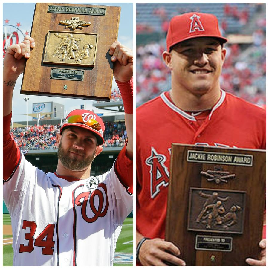 Will Mike Trout And Bryce Harper Become The First Rookie