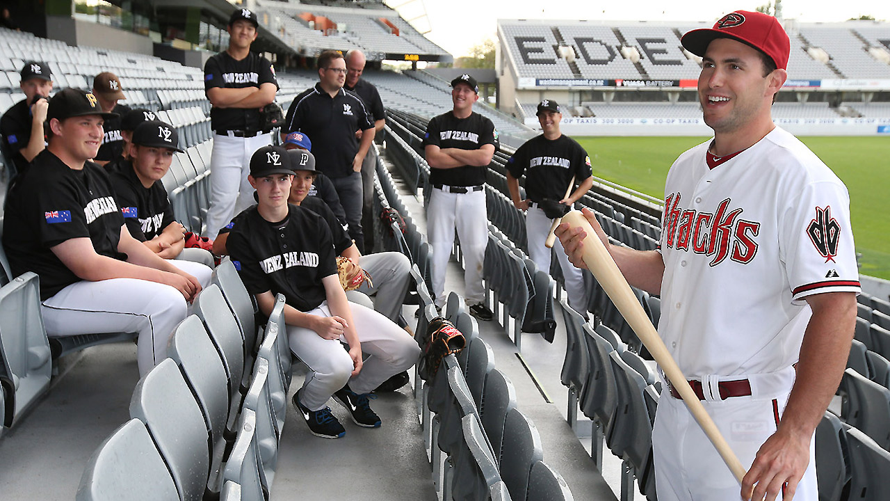 D-backs make historic visit to New Zealand