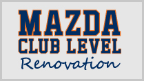 Mazda Club Level Renovation