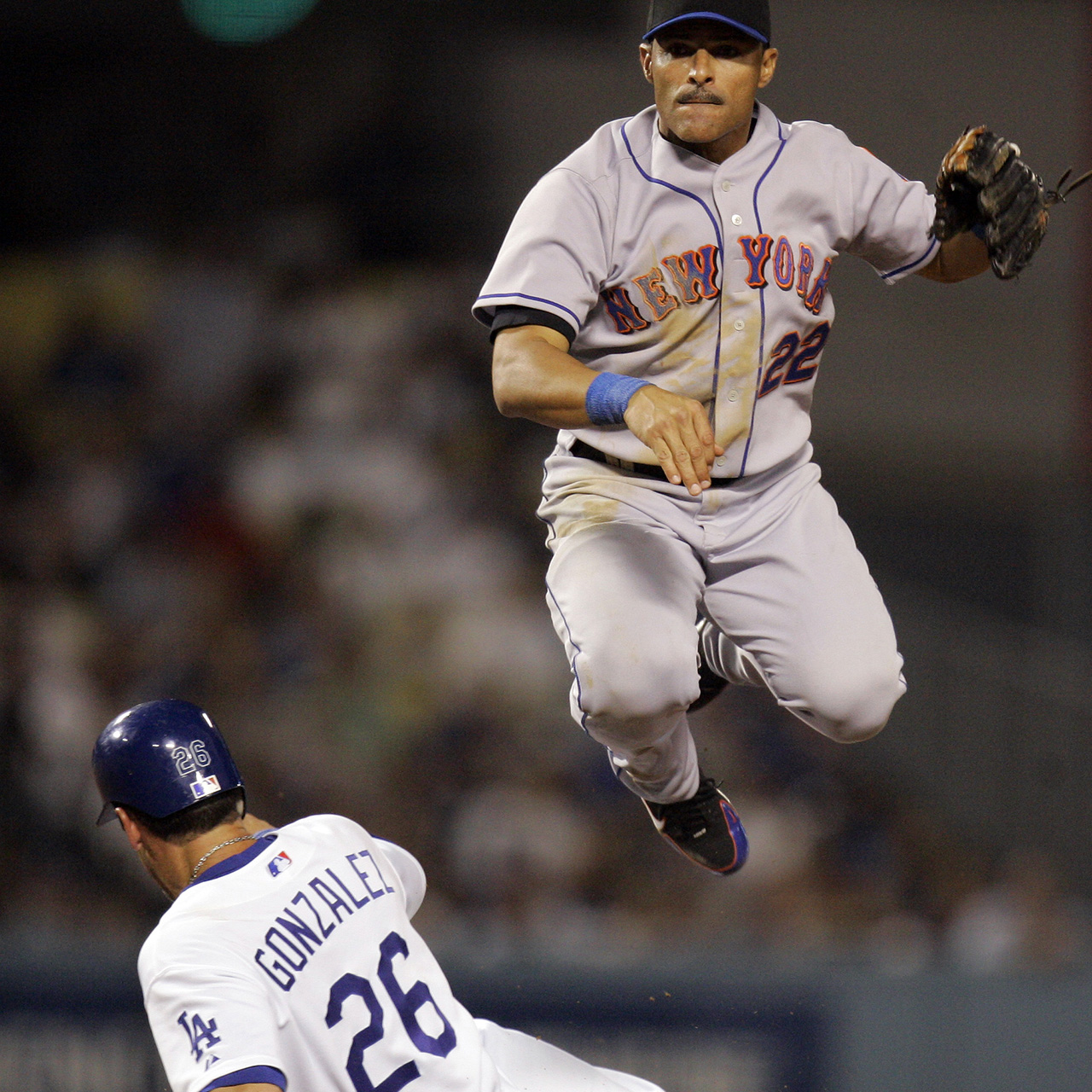 Both Jose And John (no Relation, As It Turns Out) Would Have Been Fine  Choices Here, But We Went With The Valentin Whose Clutch Hitting Helped The  Mets ...