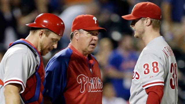 Phils won't renew contract of pitching coach Dubee