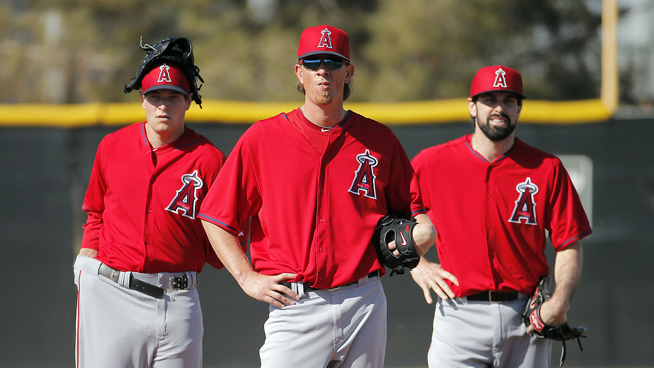 Weaver leads a Halos staff bent on redemption