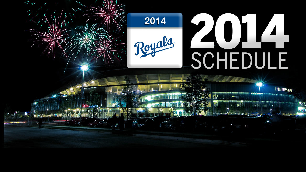 Royals' 2014 schedule has a Western flavor