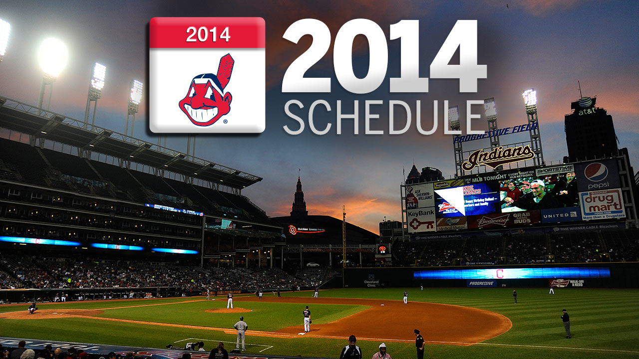 Tribe set for Interleague vs. NL West in 2014