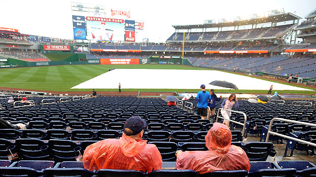 Mets' series finale at Nationals Park rained out