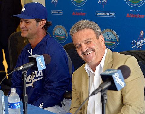 Ned Colletti no se durmió con el roster de los Dodgers