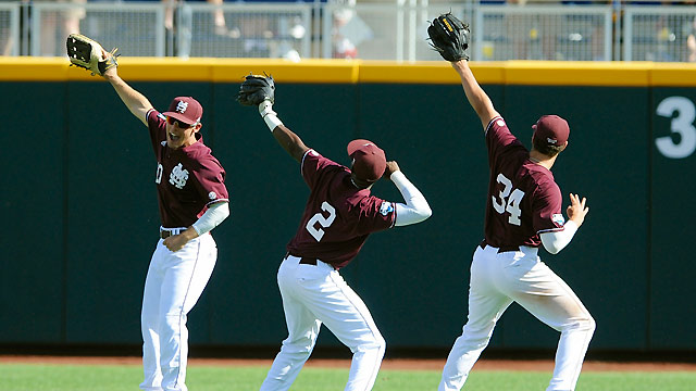 Mississippi St. holds off Oregon St. in CWS opener