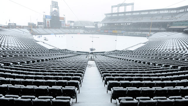 Rockies' opener vs. Mets postponed by snow
