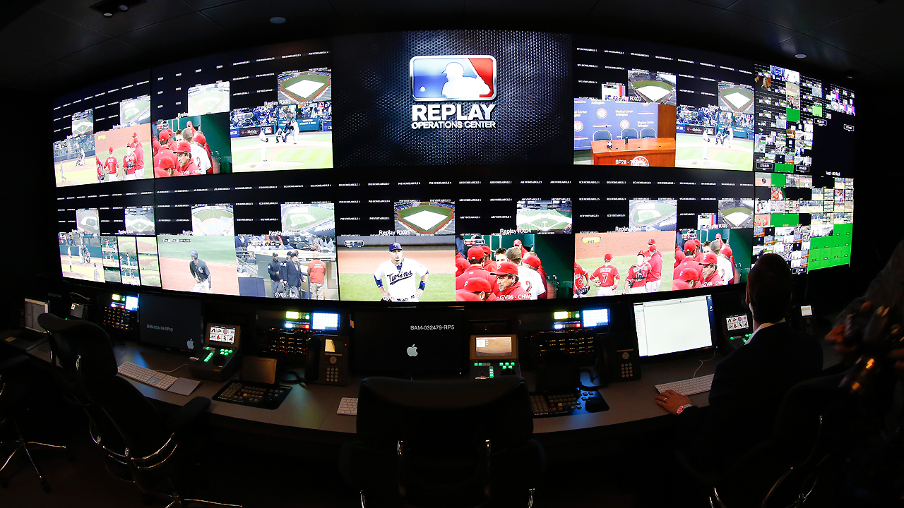 instant replay in the mlb essay Who needs instant replay in baseball, there is no challenge flag, no video  booth so the umpire can take a second look at a close play from calling balls  and.