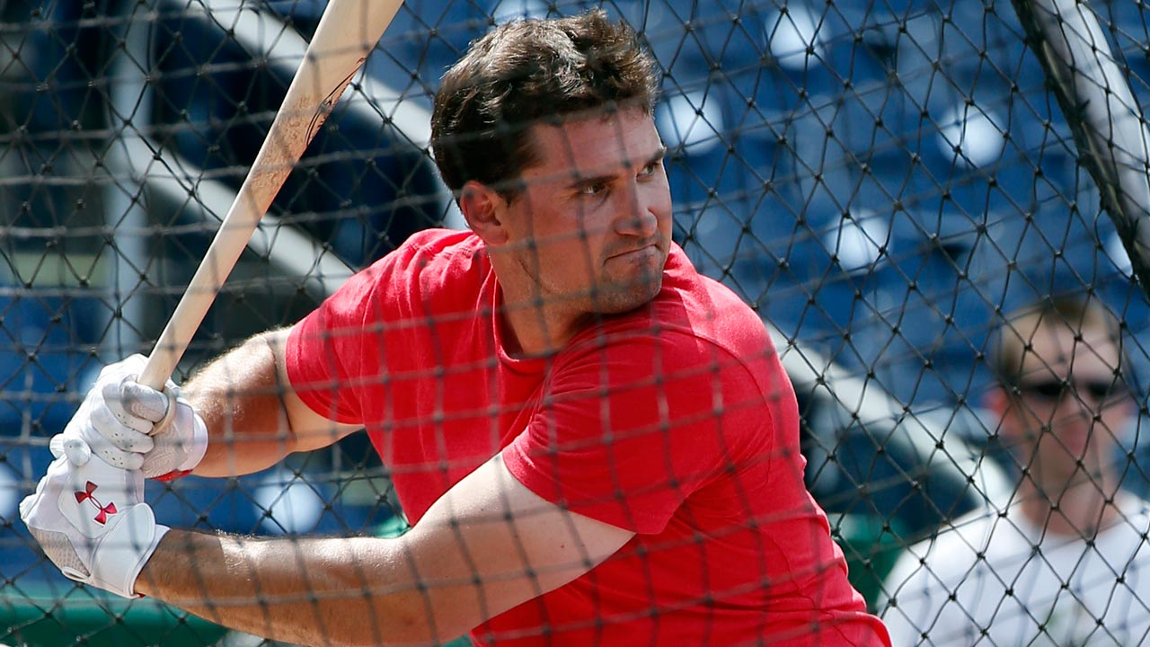 Zim takes BP for first time since thumb injury