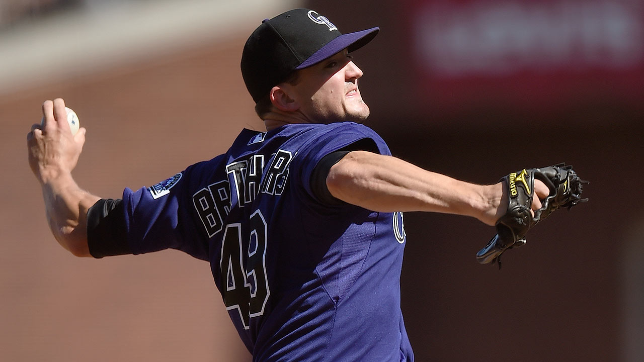 Rockies take another run at Brothers' brother