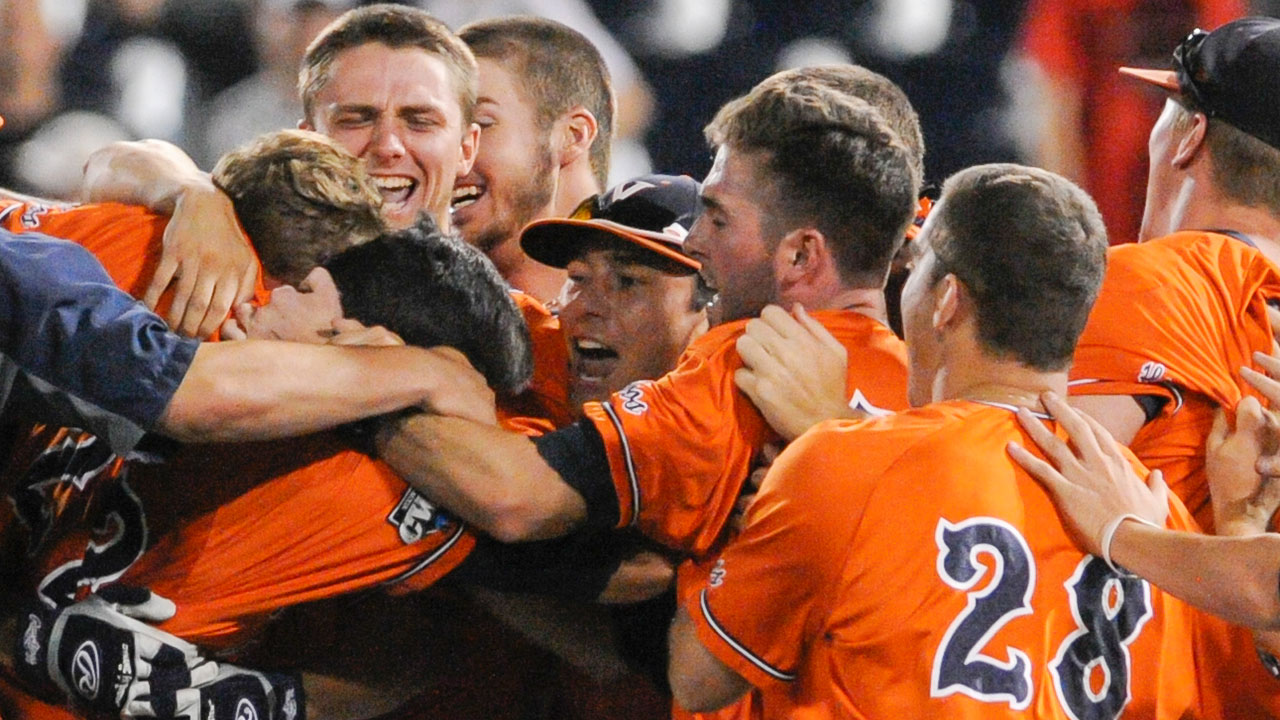 Virginia, Ole Miss walk off on thrilling day at CWS