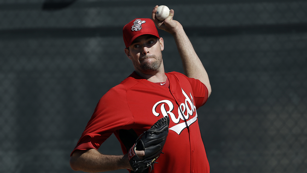 Marshall throws live BP, eyes April 18 return to bigs