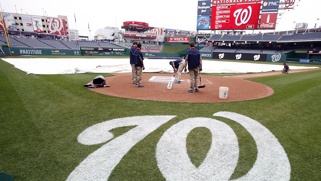 Tigers-Nats exhibition game cancelled