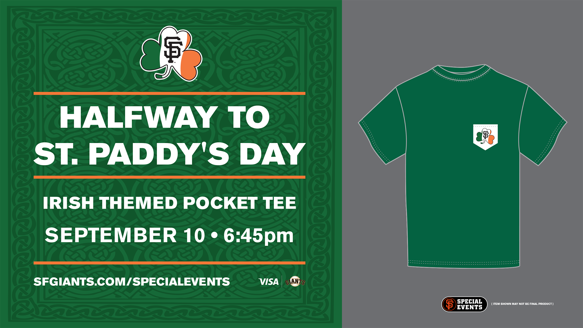SPECIAL EVENT  Halfway to St. Paddy s Day  df9b3e4e837