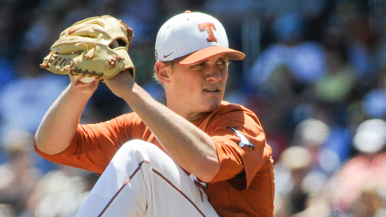 Thornhill blanks Vanderbilt to lead Texas to victory