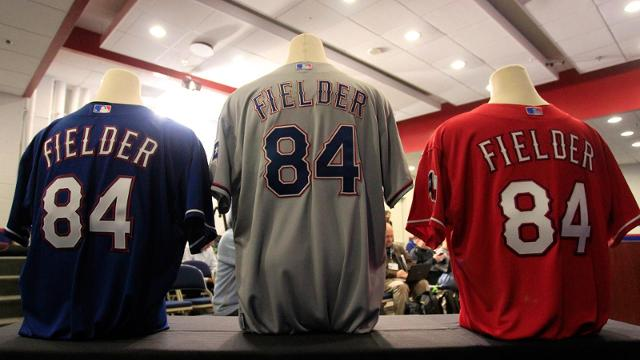 Rangers modifying jerseys for '14 season