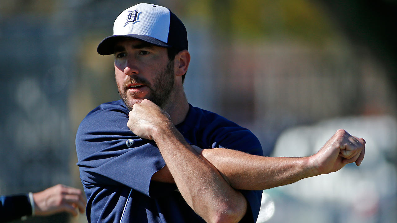 Verlander gets work in as he seeks 2012 form