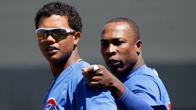 Soriano's friendship invaluable to Starlin, young Cubs