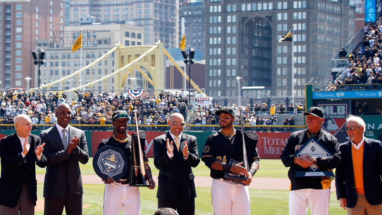 Pirates greats of yesterday, today honored