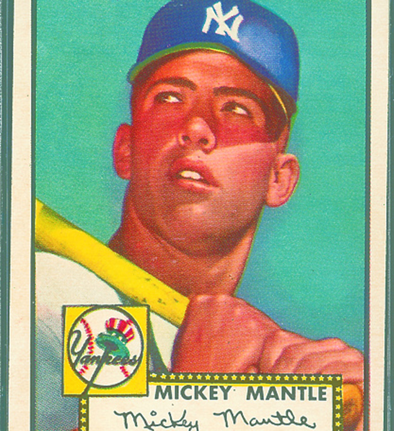 Mickey Mantle 1952 Topps Card Sells For Over A Million
