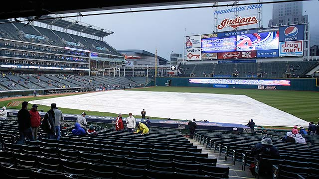 Yankees-Indians washed out in Cleveland