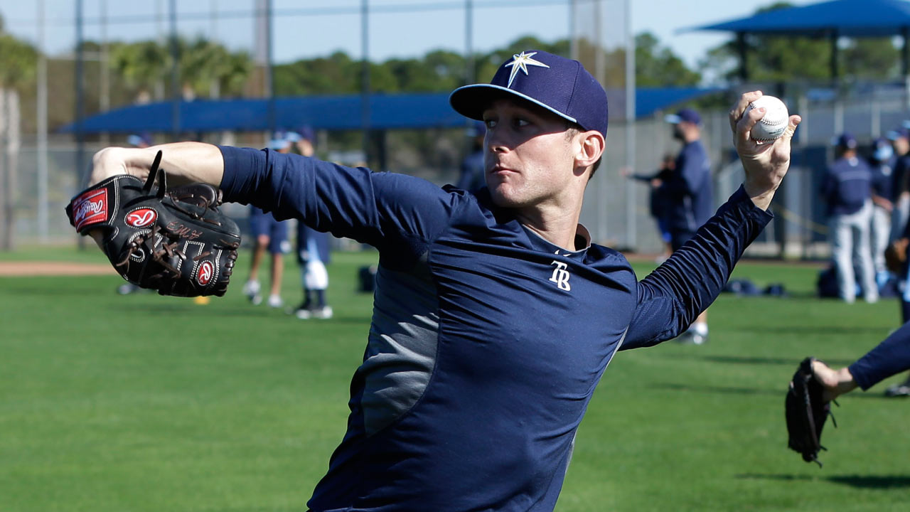 Beliveau to bullpen as Rays seek fifth starter