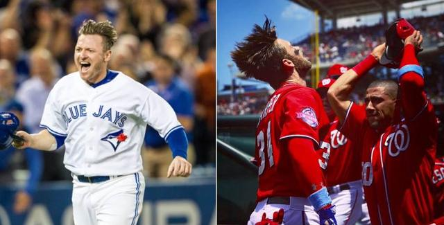 Josh Donaldson Signs Two Year Deal With Toronto Proceeds To Have Hair Flip Off Bryce Harper