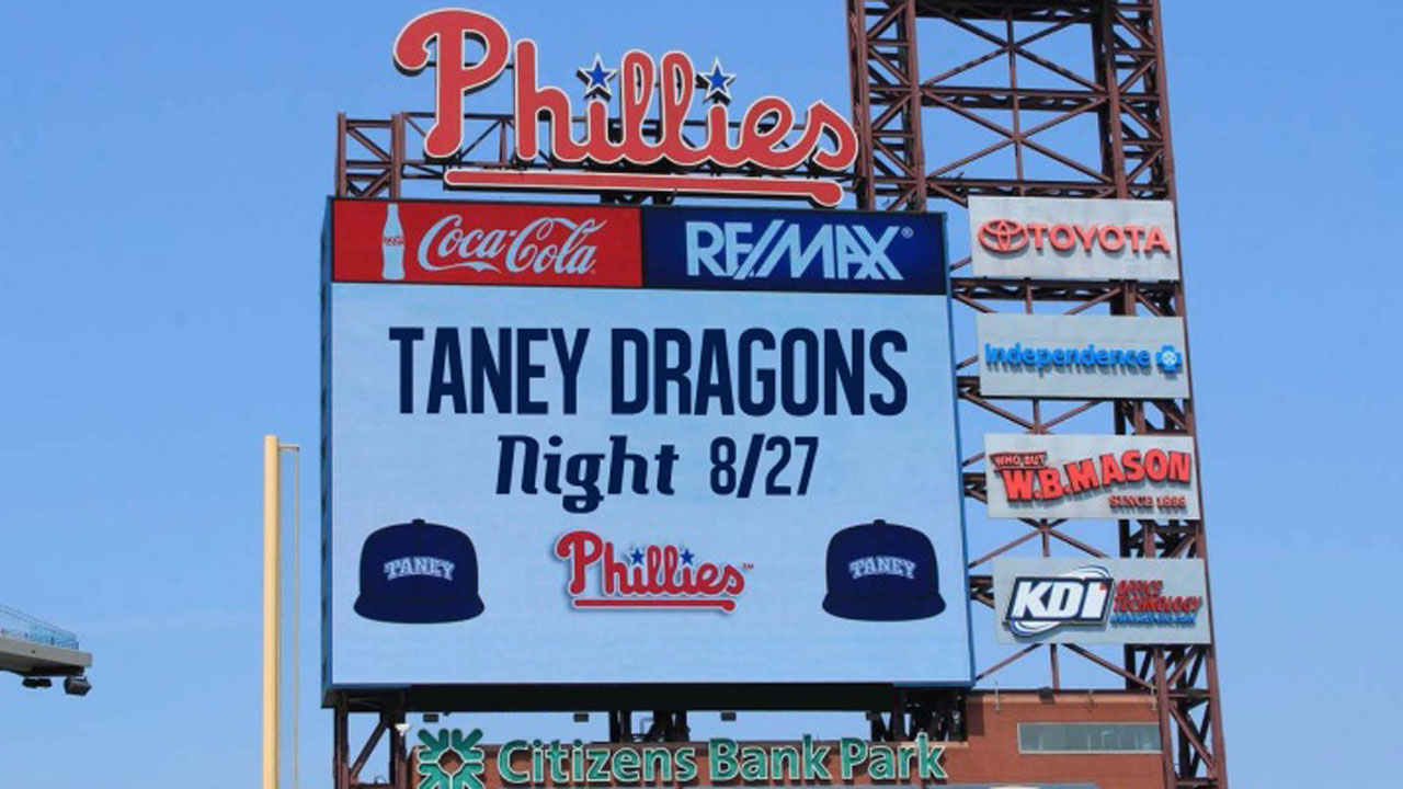 Phils provide details for tonight's Taney tribute
