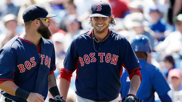 Easing into camp has worked for Buchholz