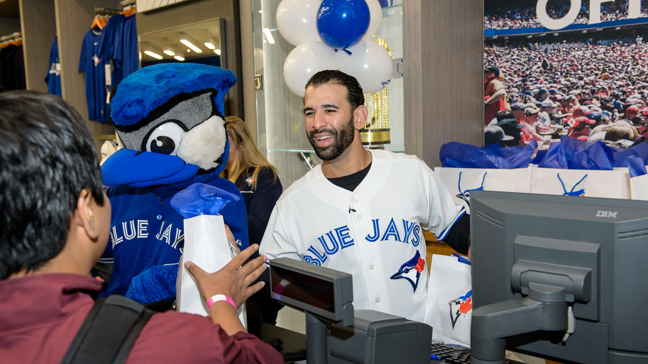 Blue Jays open flagship store at Eaton Centre