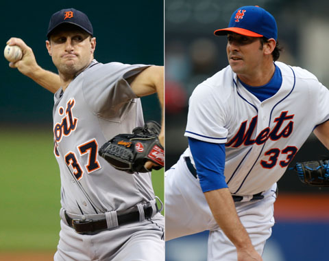 Harvey y Scherzer serán los abridores del All-Star